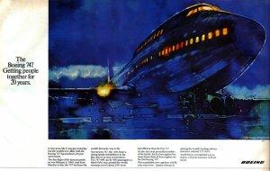 Boeing 747 Advertisement 1980s