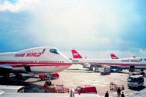 TWA Jumbo Jets at JFK
