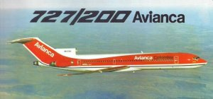 Avianca Columbia B727-200