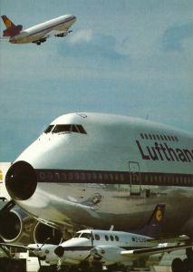 Classic Lufthansa at Frankfurt Main 1970s