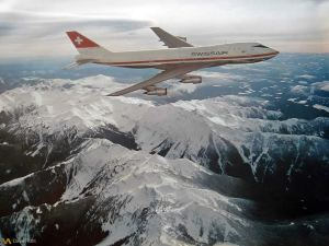 Read more about the article Swissair In-Flight