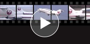 JAL 727 and DC-8 VIDEO
