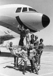 PSA Stewardess Crew & TriStar