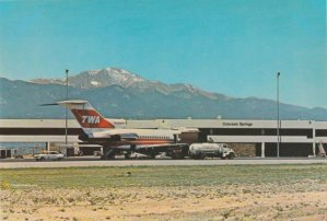 TWA Boeing 727 Colorado Springs