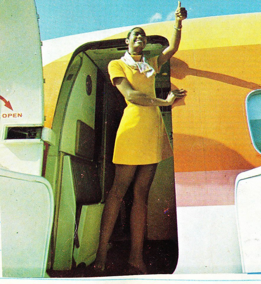Air Jamaica Stewardess