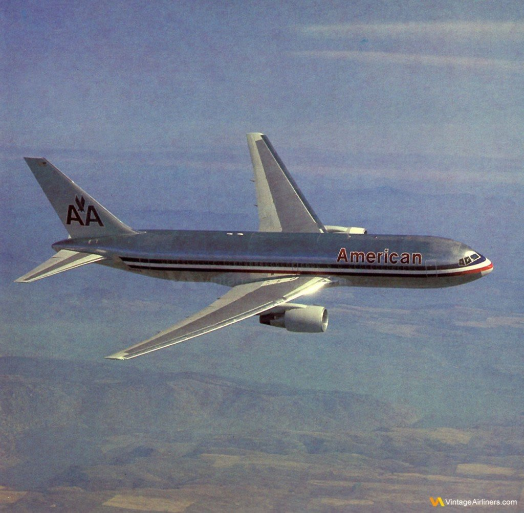 American Airlines Luxury Liner, Boeing 767