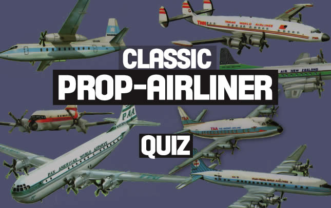 Classic Propeller-Driven Airliners Trivia