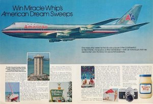 Miracle Whip's American Dream Sweeps
