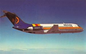 Midway Airlines DC-9-15