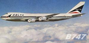 Delta Air Lines Boeing 747 (+VIDEO)