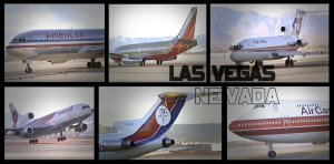 Classic LAS VEGAS Airline Spotting (VIDEOS)