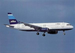 JetBlue Inaugural Flight Feb 11, 2000