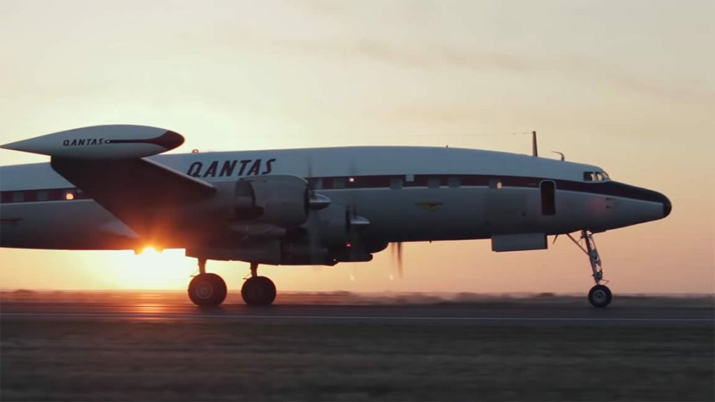 Qantas Airways - Lockheed Constellation