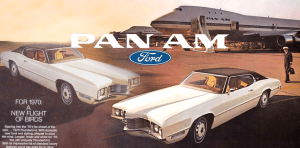 Read more about the article Pan Am and the 1970 Ford Thunderbird
