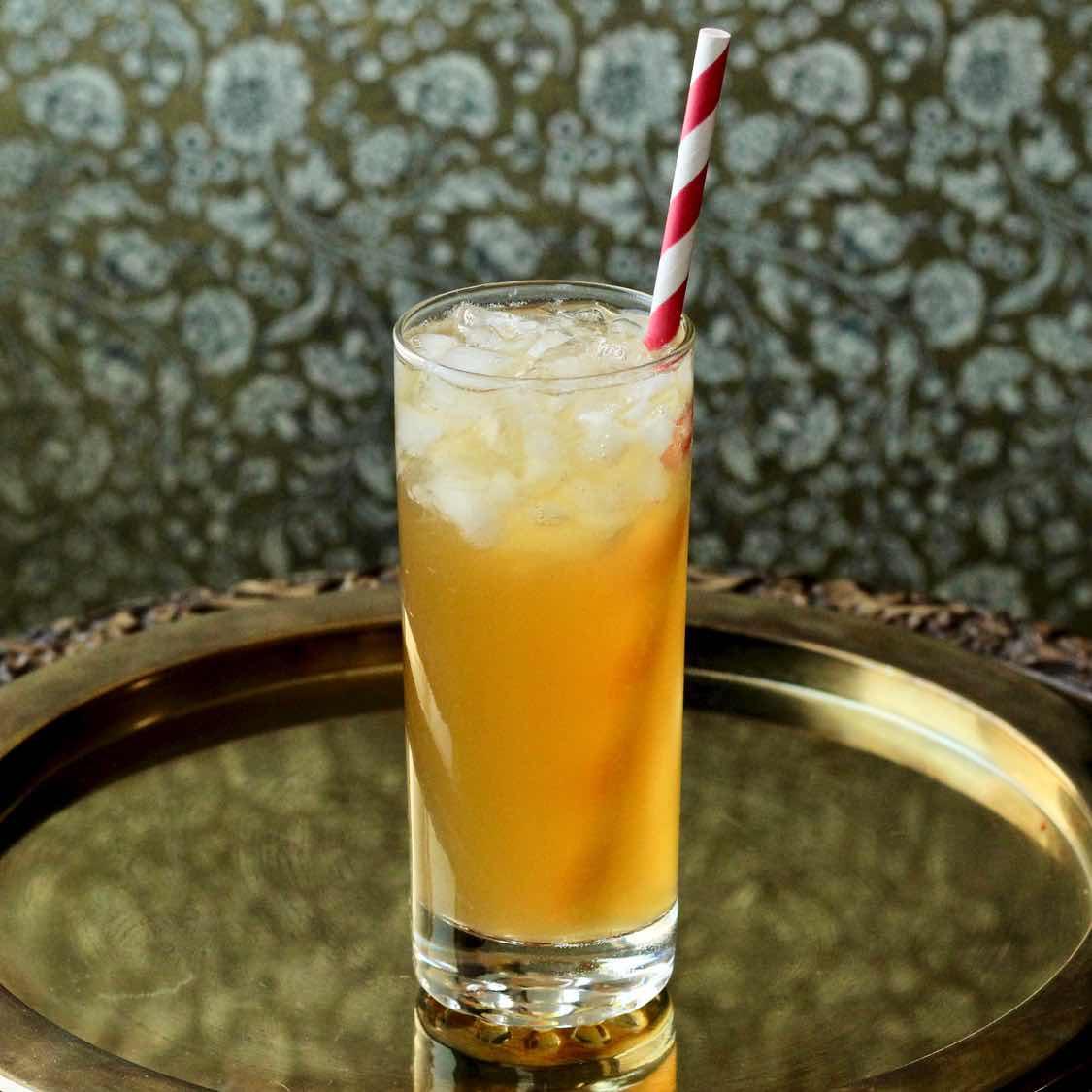 Bourbon Punch - A Wonderful Balanced Southern Cocktail