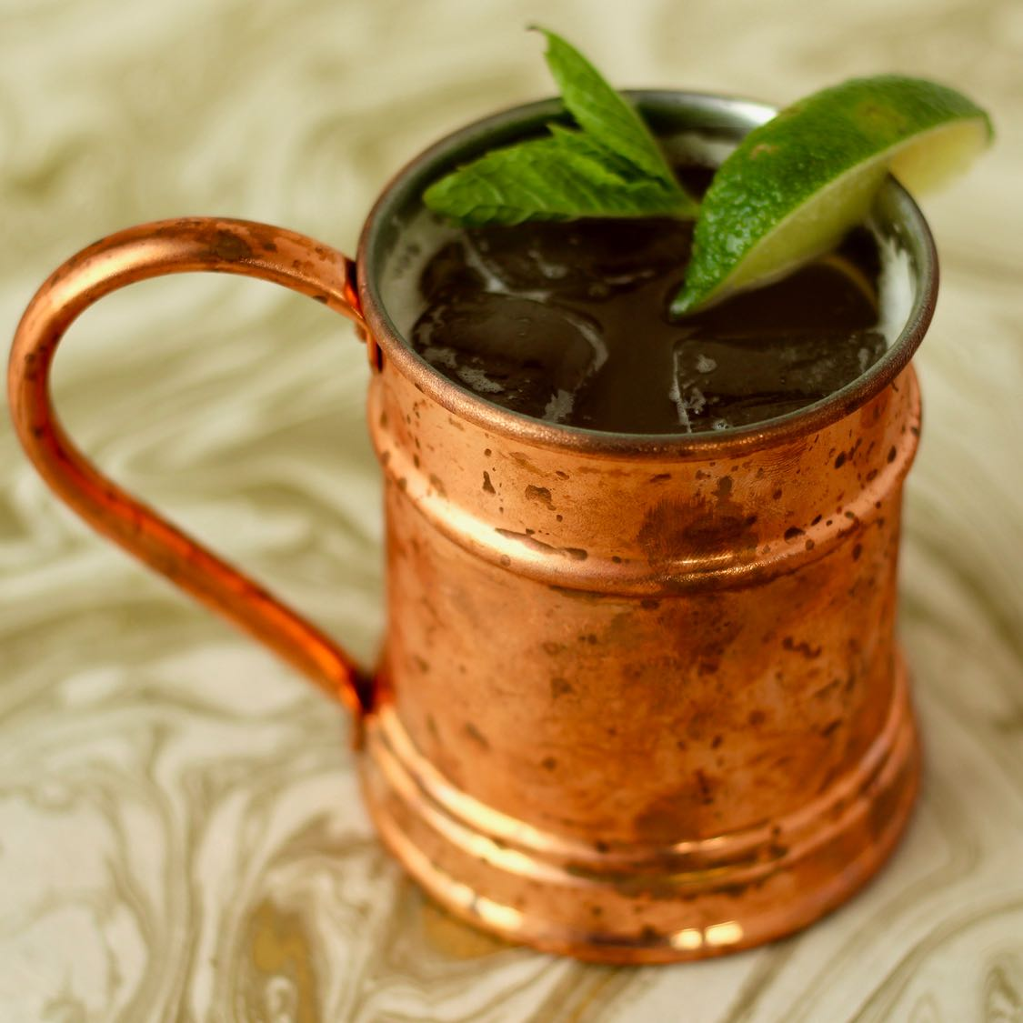 Moscow Mule Cocktail - Classic 1941 Cock'n Bull Recipe