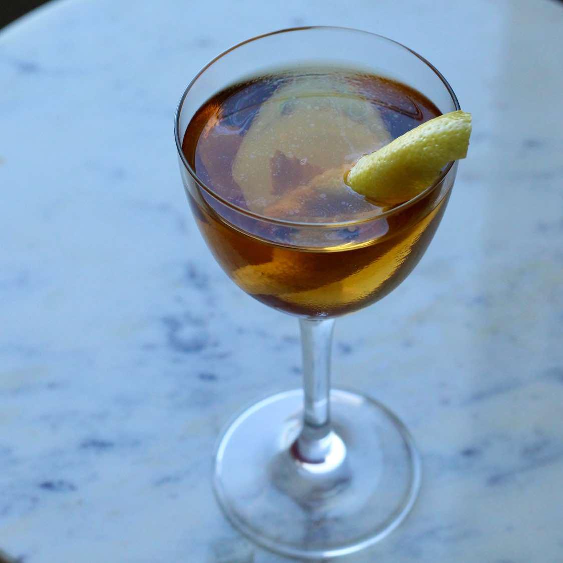 Martinez  Cocktail | Classic Pre-Prohibition Recipe