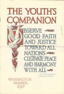 Front cover of the Youth's Companion - February 1917
