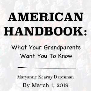Featured Image Or Book Cover For American Handbook: What Your Grandparents Want You To Know