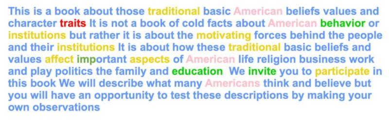 Example of computer language analysis for <em>American Way, 4th Edition</em>