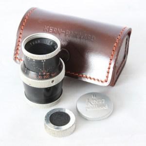 Paillard Bolex Kern Yvar f2.8 36mm Movie Camera D-Mount Lens Incl. Caps & Case