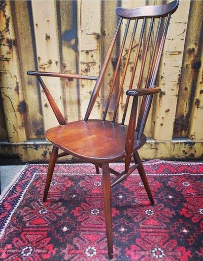 Vintage Stoel met Spijltjes | Vintage Brabant