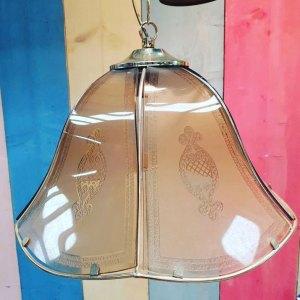 Hollywood regency lamp | Vintage Brabant