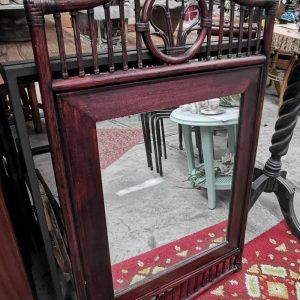 Rotan spiegel | Vintage brabant