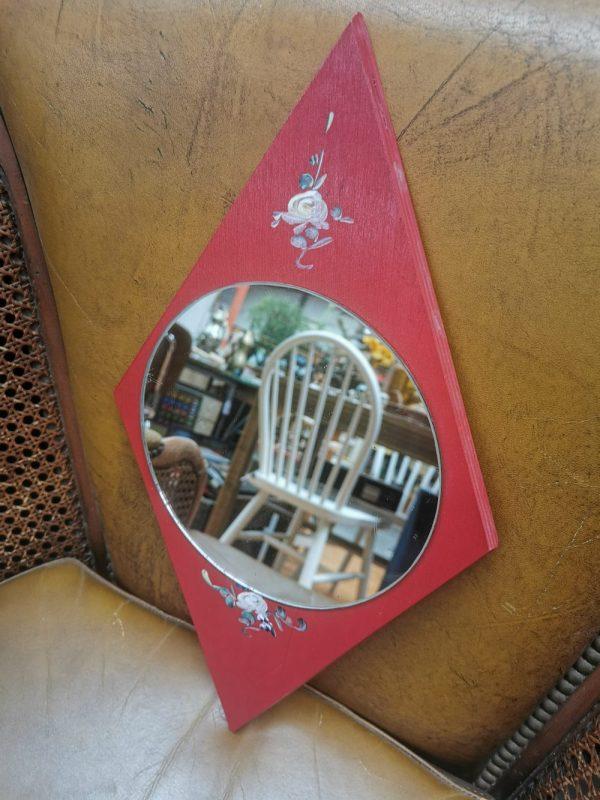 Handgeschilderd spiegeltje | Vintage brabant