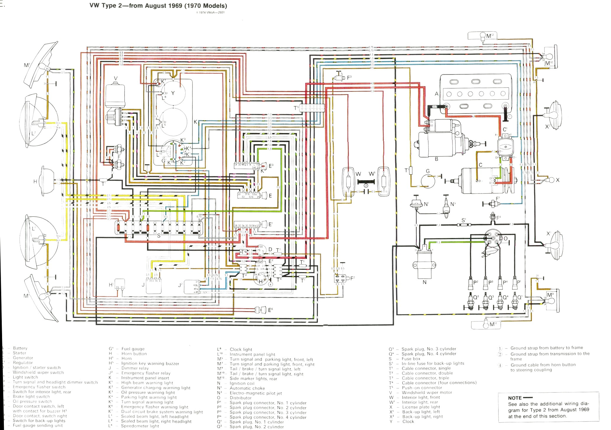 72 Vw Beetle Wiring Diagram 69 Generator