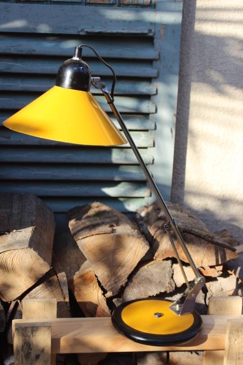 Lampe de bureau Aluminor vintage