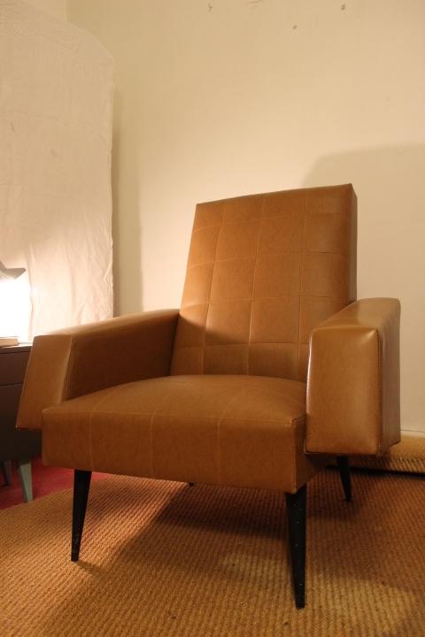 fauteuil 1950 en Simili-cuir