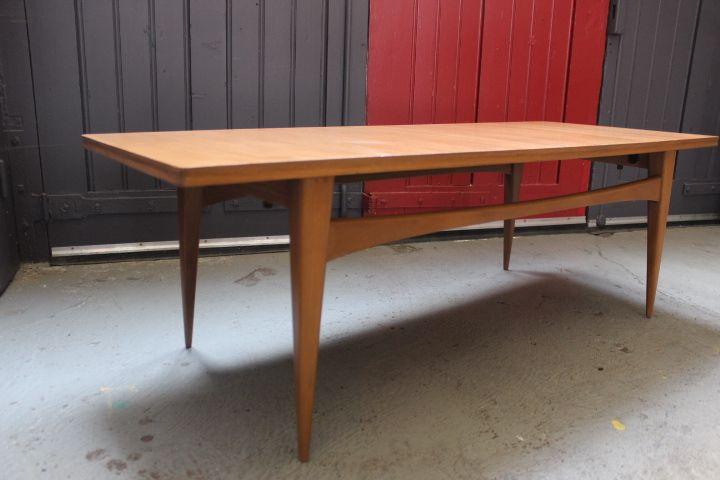 Table basse en teck design danois 1950 - 1960