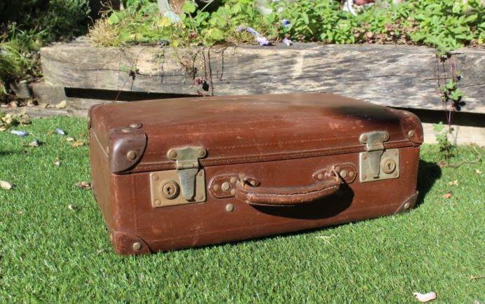 bagagerie vintage