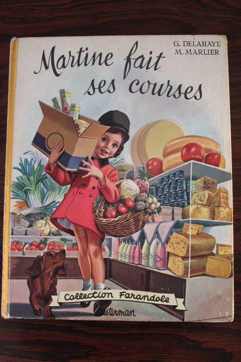 Livre pour enfants de la collection Martine