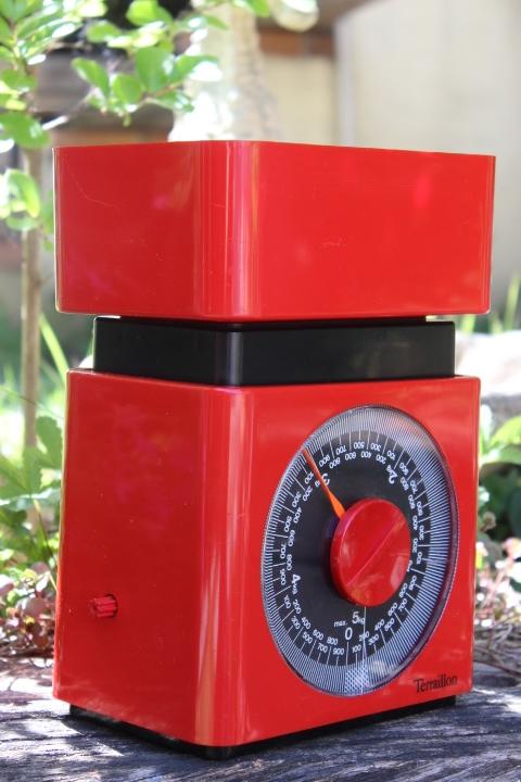 Balance De Cuisine M Canique Terraillon Rouge 70 39 S