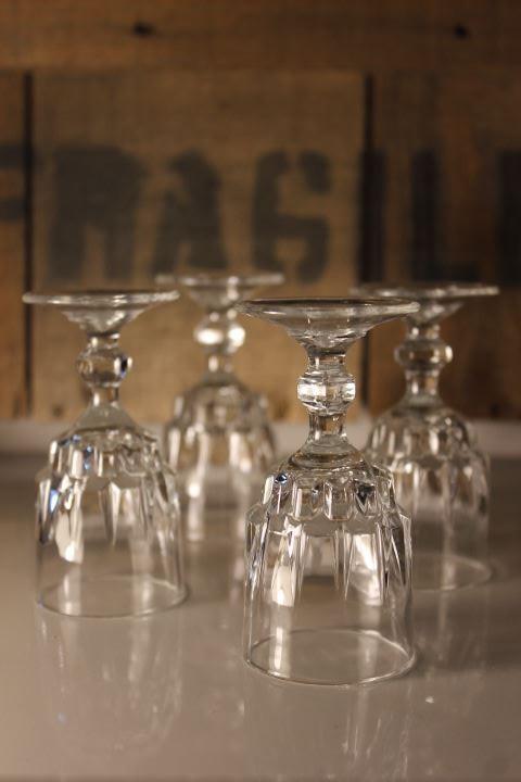 verres à liqueur vintage