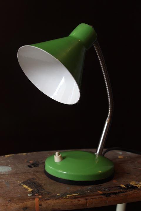 Lampe à poser en métal 1970