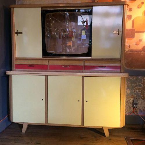 stunning authentique buffet de cuisine formica des annes with repeindre du formica with cuisine. Black Bedroom Furniture Sets. Home Design Ideas