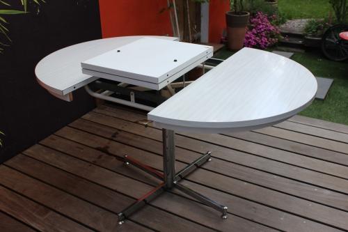 Table Formica en version ronde ou ovale