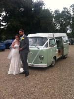 VW wedding camper hire Newark, Grantham, Mansfield, Nottingham