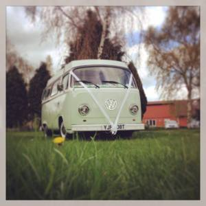 Betsy T2 campervan for wedding hire