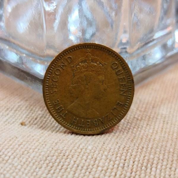 香港1965年發行5仙硬幣 1965 Hong Kong 5 Cents
