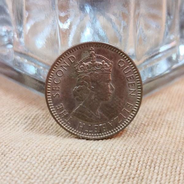 馬來西亞1961年發行1毫 1961 Malaya and British Borneo 10 Cents