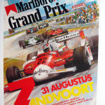 1m-1984-zandvort-f1-grand-prix-poster-55cm-x40cm-linen-backed-all-in-very-good-condition55