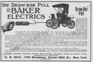 1906 Baker Electric Advertisement