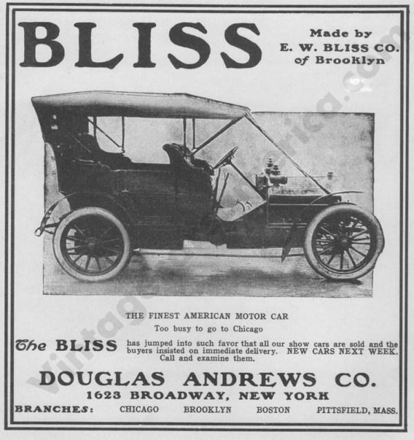 1906 Bliss Ads