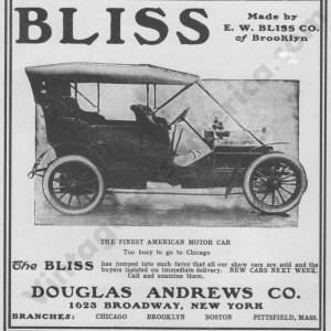 1906 Bliss Ads