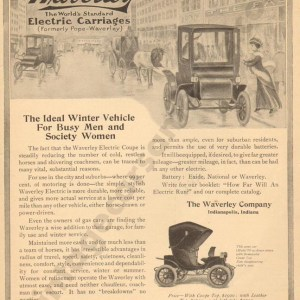 1/7/1909 Waverly Electric Advertisement