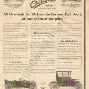 1910 Overland Advertisement #5